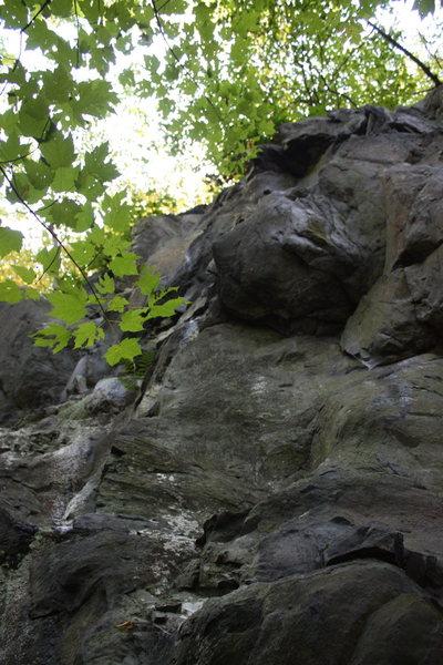 Rock Climbing Photo: note the half pentagon landmark