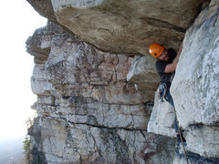 Rock Climbing Photo: what a great route! can't wipe the smile off my fa...