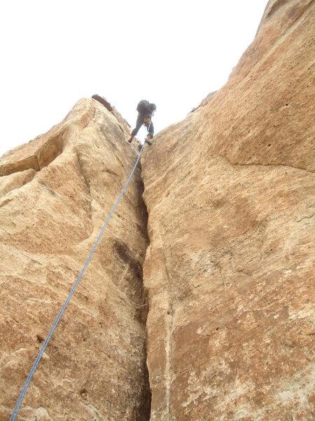 Rock Climbing Photo: Carcass Crack.