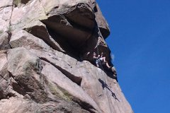 Rock Climbing Photo: The Nose in Cheyenne Canyon