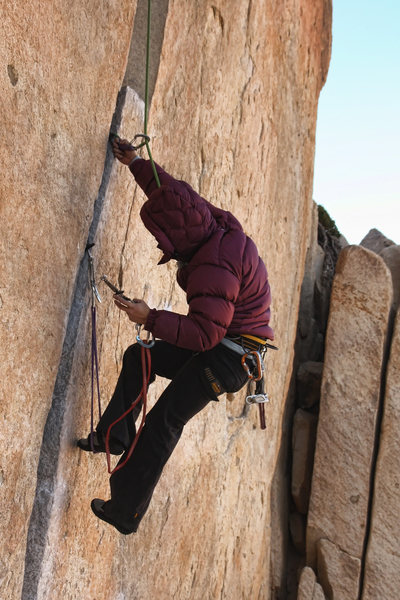 Rock Climbing Photo: Alternate variation to the start for those without...