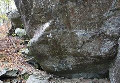 Rock Climbing Photo: bottom start area of problem.