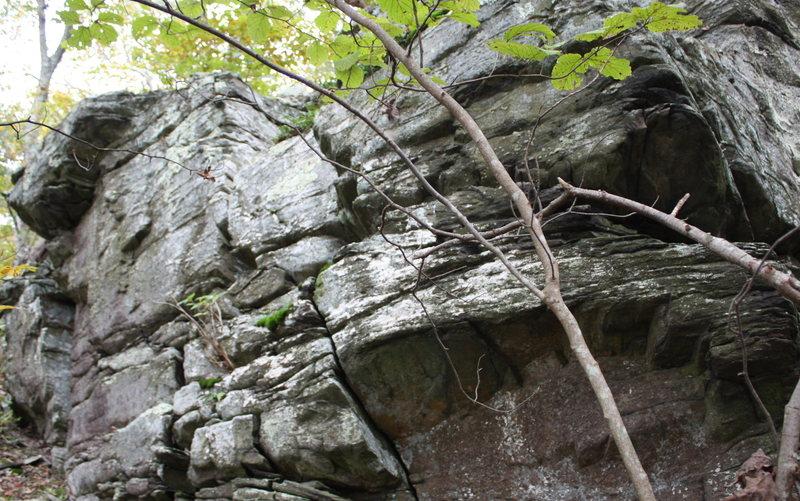 Rock Climbing Photo:  starting corner for Overdose