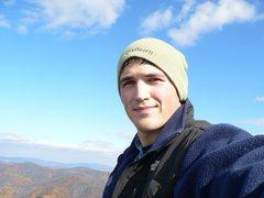 Rock Climbing Photo: Old Rag, VA backdrop