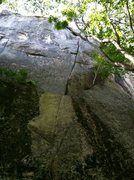 Rock Climbing Photo: Jack is the upper crack, the first part is a dirty...