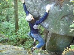 Rock Climbing Photo: Campus version.
