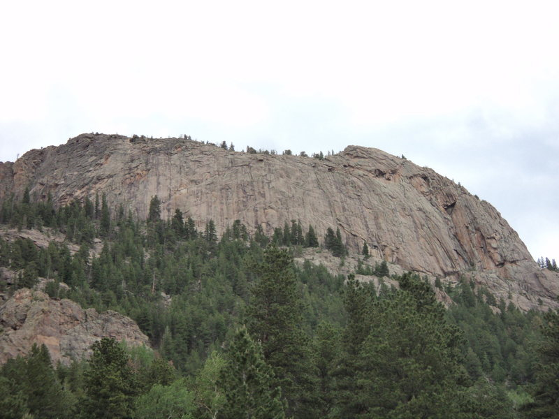 Rock Climbing Photo: Slightly more detailed photo.  Look carefully at p...
