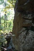 Rock Climbing Photo: Side view of Breakfast In Hell.