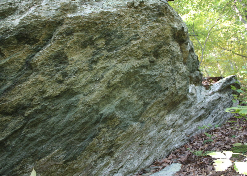 right half of Isis Boulder