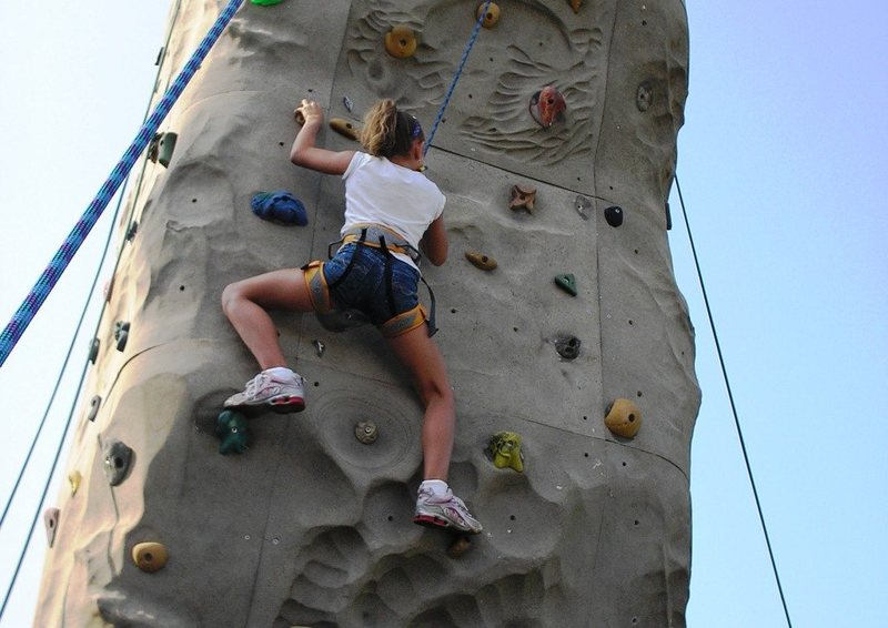 Rock Climbing Photo: climbing tower