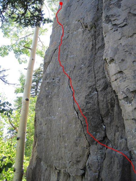 Rock Climbing Photo: Dr Livingstone..