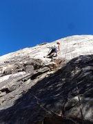 Rock Climbing Photo: Chance, a nice 5.7. Beware of wasps, though.