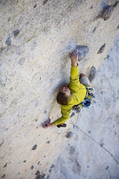 Andrew Burr photo of Candyland at Phantom Spires, 5.10c