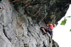 Rock Climbing Photo: Chick from Maine finishing Whip Tide