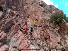 Rock Climbing Photo: Mechanical Persistence Start