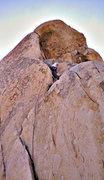Rock Climbing Photo: North overhang classic start