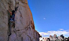 Rock Climbing Photo: Flue