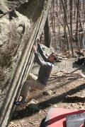 Rock Climbing Photo: Paul on Try Again