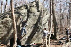 Rock Climbing Photo: Ian on Try Again