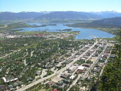 Rock Climbing Photo: Unfortunately, the views of Lake Dillon are the be...