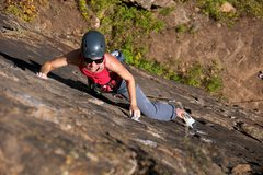 Rock Climbing Photo: Really quality stone and good grips on Taster's Ch...
