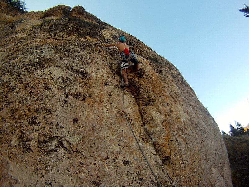 Rock Climbing Photo: Mike on IBTC