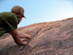 Rock Climbing Photo: EF starting Ted Shread