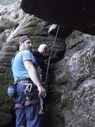 Rock Climbing Photo: Zackary on Child's Play