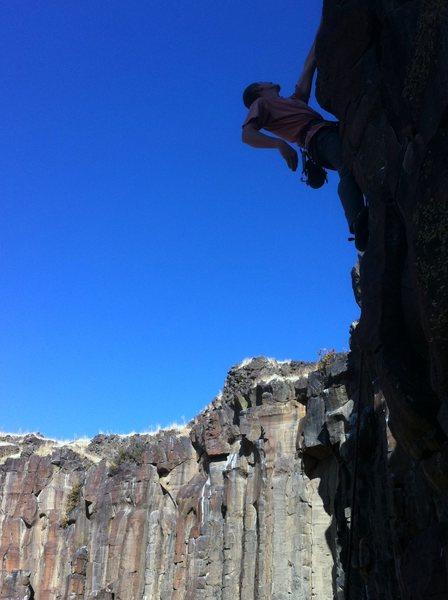 Rock Climbing Photo: Reggie sends Dog Face!