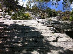Rock Climbing Photo: Twin Oaks