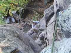 Rock Climbing Photo: Jason on the Sucker
