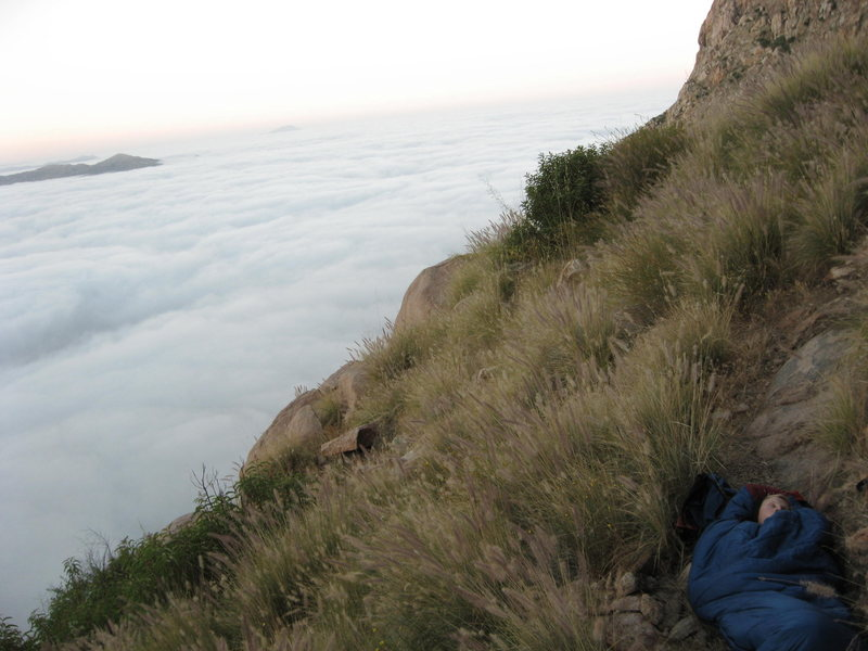 Rock Climbing Photo: takin' a lil napski-poo.