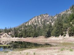 Rock Climbing Photo: Crystal Lake Crag