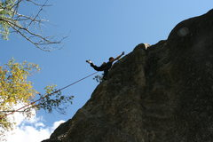 "Rock Climbing Photo: Route description say ""juggy"".  I'd have..."