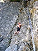 Rock Climbing Photo: Taco on Fingerbang. Photo by Amanda C.