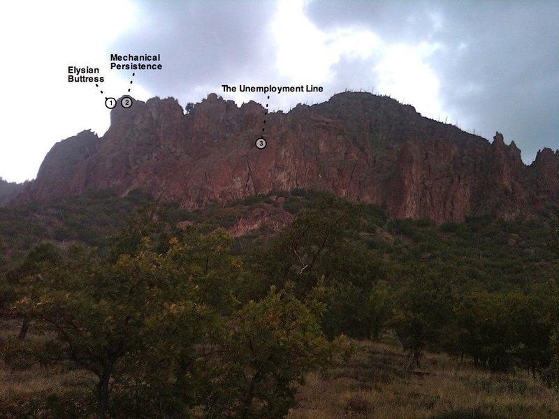 Rock Climbing Photo: Elysian Buttress