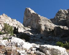 Rock Climbing Photo: Taminah Arete (5.9), Matternought Peak, Grand Teto...