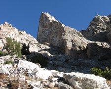 Rock Climbing Photo: Taminah Arete (5.9), Matternought Peak, Grand Teto...