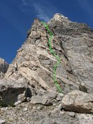 Rock Climbing Photo: Flying Buttress, Good for the Soul (5.7), Avalanch...