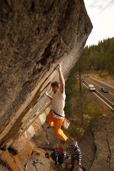 Rock Climbing Photo: Double Rainbow v5