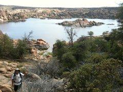 Rock Climbing Photo: Arizona climbing area near Prescott