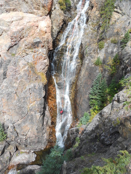 Rock Climbing Photo: Vail Canyoneering