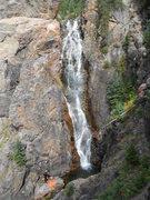 Rock Climbing Photo: Booth Creek Falls