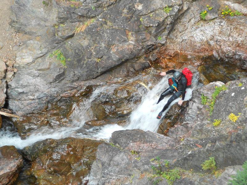 Down Climb