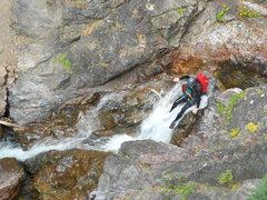Rock Climbing Photo: Down Climb
