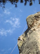 Rock Climbing Photo: Exclamation Point!