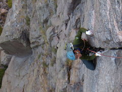 Rock Climbing Photo: Scenic Cruise.  Black Canyon.  Oct 2nd 2011.  With...