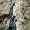 Scenic Cruise.  Crux Pitch. Black Canyon.  Oct 2nd 2011.  With Jordon Griffler.