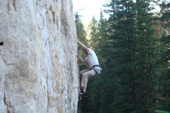 Rock Climbing Photo: Breast Pump, 5.11b