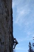 Rock Climbing Photo: Breast Pump, 5.11b Worth every last drop!